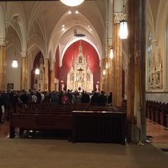 Photo taken at St. Boniface Catholic Church by Susan E. on 3/14/2015