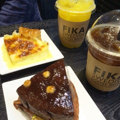 Photo taken at FIKA Swedish Coffee Break by YEJIN L. on 8/16/2015