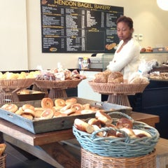 Photo taken at Hendon Bagel Bakery by Benjamin O. on 6/3/2013