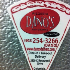 Photo taken at Dano's Pizza by Aaron G. on 1/10/2013