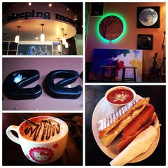 Photo taken at Sleeping Moon Cafe by Jordan R. on 2/2/2013