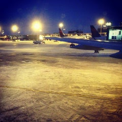 Photo taken at Minneapolis-St. Paul International Airport (MSP) by Jordan R. on 12/29/2012