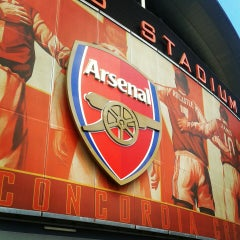 Photo taken at Emirates Stadium by Lauren T. on 6/1/2013