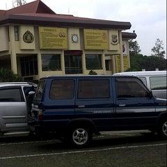 Photo taken at Polda Jabar by Dadang K. on 2/24/2014
