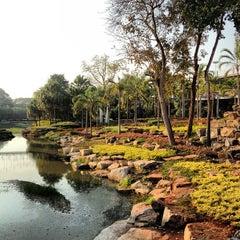 Photo taken at สวนนงนุช (Nong Nooch Garden & Resort) by Пикус С. on 1/9/2013