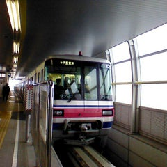 Photo taken at 大阪モノレール 蛍池駅 (Hotarugaike Sta.) by Shiu S. on 2/19/2013