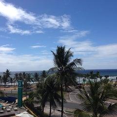 Photo taken at Mar Brasil Hotel Salvador by Almir P. on 11/19/2013