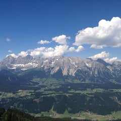 Photo taken at Hochwurzenalm by Jan D. on 7/23/2013