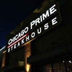 Photo taken at Chicago Prime Steakhouse by CJ R. on 3/4/2013