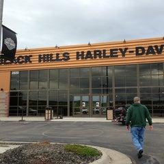 Photo taken at Black Hills Harley-Davidson by Kathy B. on 5/30/2013