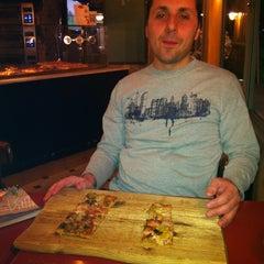 Photo taken at Ben Gurion Pizzeria (הפיצרייה בן גוריון) by Ben A. on 3/7/2013