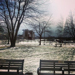Photo taken at The University of Akron by Samuel C. on 1/22/2013
