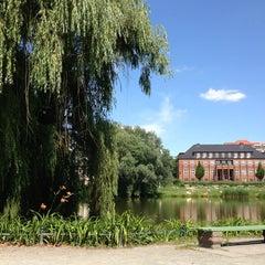 Photo taken at Lietzensee by Dirk S. on 7/7/2013