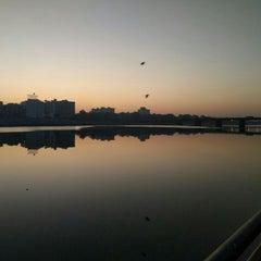 Photo taken at Sabarmati River Front by Jaina M. on 2/1/2016