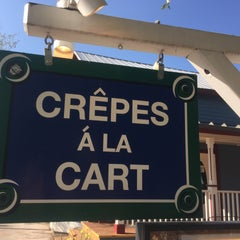 Photo taken at Crepes a la Cart by Angie D. on 8/19/2015