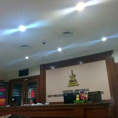 Photo taken at Unit Perancang Ekonomi Negeri Selangor UPEN by Abd Rahman on 8/27/2014