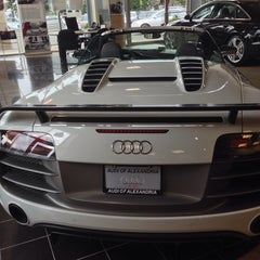 Photo taken at Audi of Alexandria by Sak V. on 8/13/2013