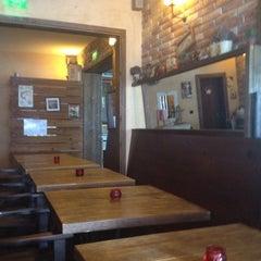 Photo taken at Brick Cafe by Ivan B. on 9/18/2012