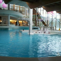 Photo taken at Thermae 2000 by Anyelina M. on 5/16/2013