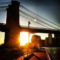Photo taken at Under The Brooklyn Bridge by Ryan C. on 10/13/2012