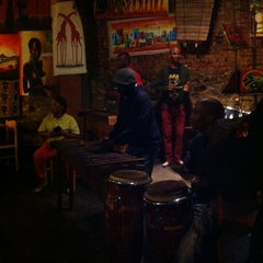 Photo taken at Mama Africa by Linda L. on 10/6/2012