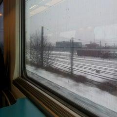 Photo taken at Trein Gent > Antwerpen by Curd M. on 1/20/2013