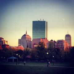 Photo taken at Boston Common by Kate Y. on 5/7/2013