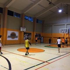 Photo taken at Zehra Gürbüz Spor Salonu by Ahmet P. on 5/24/2016