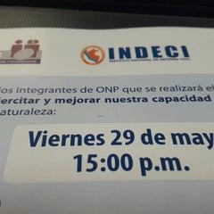 Photo taken at Oficina de Normalización Previsional - ONP by Angel E. on 5/29/2015