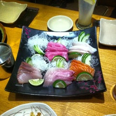 Photo taken at Sushi Tei by Indra A. on 3/14/2013
