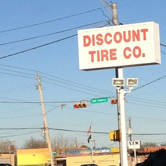Photo taken at Discount Tire Store by Pam B. on 2/1/2013