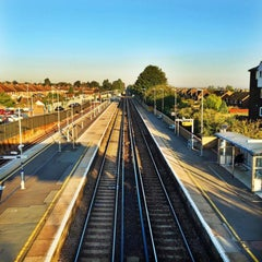 Photo taken at Rainham Railway Station (RAI) by Figen S. on 11/6/2015