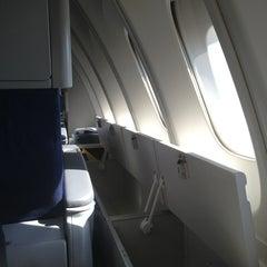 Photo taken at KLM Flight KL643 [AMS - JFK] by Martijn V. on 5/27/2013