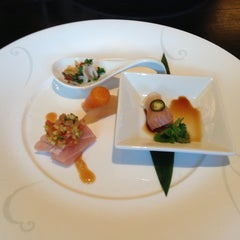 Photo taken at Nobu by Karine C. on 10/29/2012