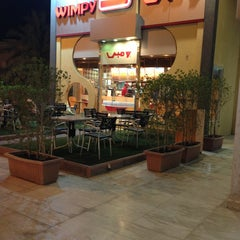 Photo taken at Wimpy by Elburhy Q. on 6/8/2013