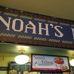Photo taken at Noah's Bagels by Ira S. on 11/29/2012