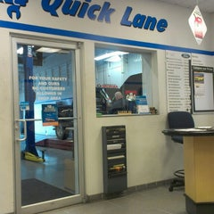 Photo taken at Quick Lane Tire & Auto by Jessica C. on 4/15/2013