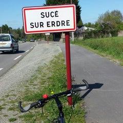 Photo taken at Sucé-sur-Erdre by Dominique B. on 4/9/2014