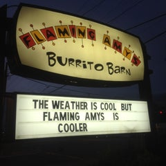 Photo taken at Flaming Amy's Burrito Barn by Tim on 10/30/2012