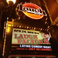 Photo taken at Laugh Factory by Rick L. on 4/17/2013