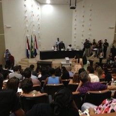 Photo taken at Auditorio da Reitoria by Bárbara R. on 12/19/2012