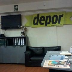 Photo taken at Diario Depor by Harry G. on 12/20/2012