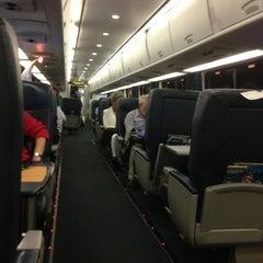 Photo taken at Amtrak Acela 2173 by Jeremy J. on 7/23/2013