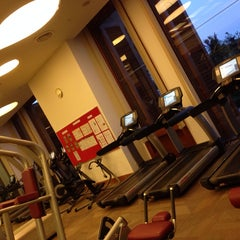 Photo taken at Fitness Centre by Leslie C. on 11/3/2013