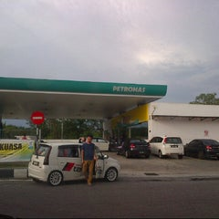 Photo taken at PETRONAS Station by Austin M. on 8/2/2014