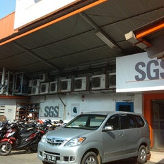 Photo taken at PT. SGS Indonesia by αδћίε Ј. on 2/20/2014