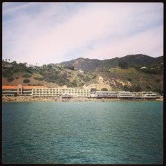Photo taken at Malibu Beach Inn by Adam R. on 3/2/2013