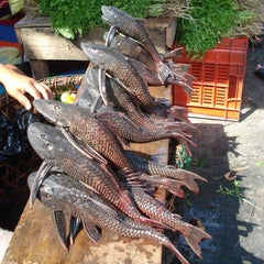 Photo taken at Xom Chieu Market by ⚓Capt C. on 4/16/2014