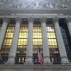 Photo taken at New York Stock Exchange by DJ B. on 3/2/2013