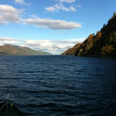 Photo taken at Loch Ness by Ian A. on 11/3/2012